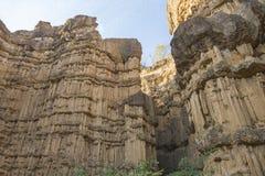 Pha Chor kanjon Royaltyfri Fotografi
