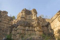 Pha Chor kanjon Royaltyfria Bilder