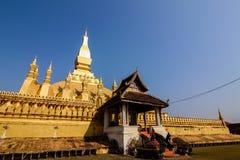 Pha das Luang-Monument, Vientiane Lizenzfreies Stockfoto