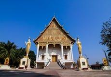 Pha das Luang-Monument, Vientiane Lizenzfreie Stockfotografie