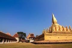 Pha das Luang-Monument, Vientiane Stockbild