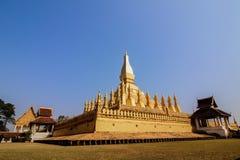 Pha das Luang-Monument, Vientiane Lizenzfreie Stockbilder