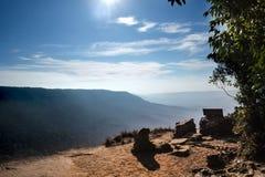 Pha Deo Dai cliffs. Pha Deo Dai cliffs in Khao Yai National Park,Thailand Royalty Free Stock Image