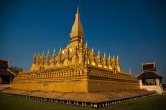 Pha die Luang Royalty-vrije Stock Afbeeldingen
