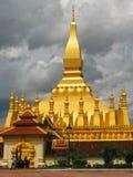 Pha die Luang in Vientiane Stock Foto's