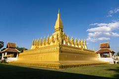 Pha die Luang Vientiane, Laos royalty-vrije stock fotografie