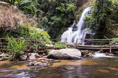 Pha Dok Sie Waterfall in Doi Inthanon national park, Chiangmai Thailand Royalty Free Stock Images
