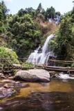 Pha Dok Sie Waterfall in Doi Inthanon national park, Chiangmai Thailand Stock Image