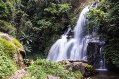 Pha Dok Sie Waterfall in Doi Inthanon national park, Chiangmai Thailand Royalty Free Stock Photo