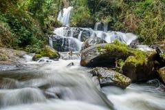 Pha-dok Siew-Wasserfall in Chiang Mai Thailand Lizenzfreies Stockbild