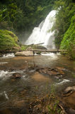 Pha Duak Saew waterfall in forest. Royalty Free Stock Photos