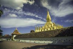 Pha esse Luang em laos Imagem de Stock