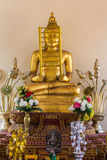 Pha Ga Brahma statue in Wat Sri Don Moon , Chiangmai Thailand Royalty Free Stock Photos