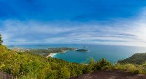 Pha Hin Dum il più alto punto di vista a Phuket Fotografia Stock