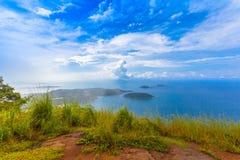 Pha Hin Dum il più alto punto di vista a Phuket Fotografia Stock Libera da Diritti