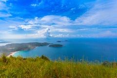 Pha Hin Dum il più alto punto di vista a Phuket Immagini Stock Libere da Diritti