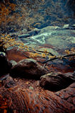 Pha Kuay Mai-vattenfall Royaltyfria Bilder