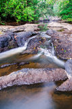 Pha Kuay Mai-vattenfall Arkivbild