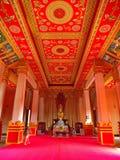 Pha Luang是一金隐蔽的大佛教stupa在cen中 免版税图库摄影