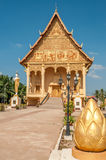 Pha That Luang Complex. In Vientiane City Stock Photography