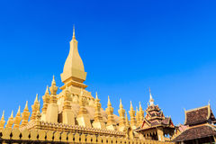 Pha That Luang. Royalty Free Stock Photos