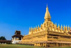 Pha That Luang. Stock Photos