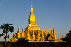 Pha That Luang Stock Photography