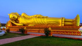 Pha That Luang, Great Stupa in Vientine, Laos Royalty Free Stock Image