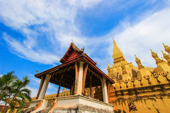Pha That Luang(That Luang Stupa),Vientiane,Laos. A great sanctuary of Vientiane and the heart and soul of the people of Laos across the country,regarded as an Royalty Free Stock Image