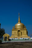 Pha That Luang monument recalls chicken. I remember Pha That Luang Sources worship Stock Photography