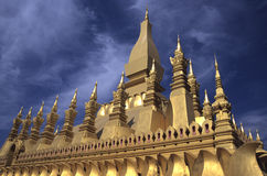 Pha That Luang Pagoda Royalty Free Stock Photo