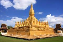 Pha Luang stupa,万象,老挝 免版税库存图片
