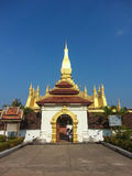 Pha That Luang stupa in Vientiane, Laos Royalty Free Stock Photos