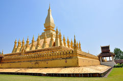 Pha That Luang stupa in Vientiane, Laos Royalty Free Stock Image