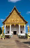 Pha That Luang temple Royalty Free Stock Image