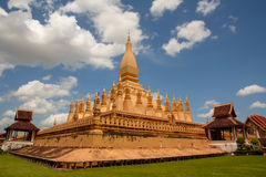 Pha That Luang temple Royalty Free Stock Photos