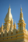 Pha-That-Luang temple Stock Image