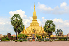 Pha That Luang in Vientiane Royalty Free Stock Photography