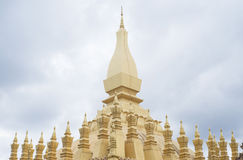 Pha That Luang, Vientiane, Laos. Stock Photography