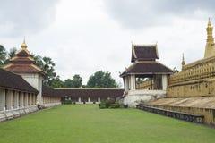 Pha That Luang, Vientiane, Laos. Royalty Free Stock Image