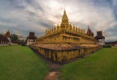 Pha That Luang. In Vientiane, Laos landmarks Royalty Free Stock Photo