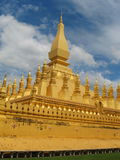 Pha That Luang in Vientiane Stock Images