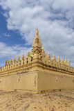 Pha That Luang in Vientiane Royalty Free Stock Image