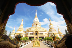 Pha Nam Yoi寺庙、Roi和泰国 库存图片