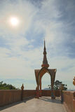 Pha Pha暗藏的玻璃(Wat Pha Kaew) 库存图片