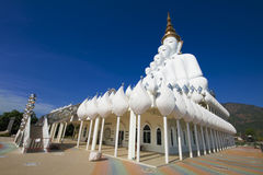 Pha Pha dolt exponeringsglas (Wat Pha Kaew) Royaltyfria Bilder