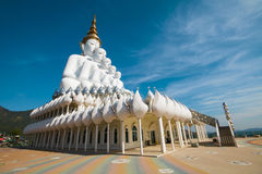 Pha Pha dolt exponeringsglas (Wat Pha Kaew) Arkivbilder