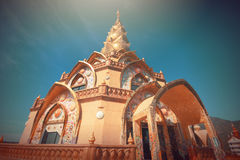 Pha Pha dolt exponeringsglas (Wat Pha Kaew) Arkivfoto