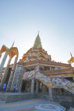 Pha Pha dolt exponeringsglas (Wat Pha Kaew) Arkivfoton