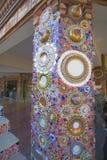 Pha Pha dolt exponeringsglas (Wat Pha Kaew) Arkivbild